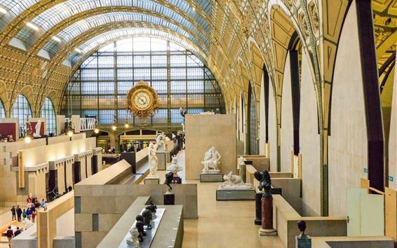Wallpaper France, Paris, Musee, interior
