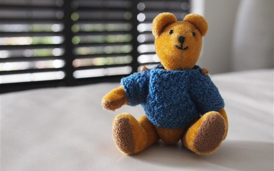 Wallpaper Furry toy, teddy