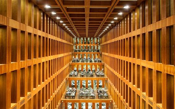 Wallpaper Humboldt State University, library, Germany, Berlin