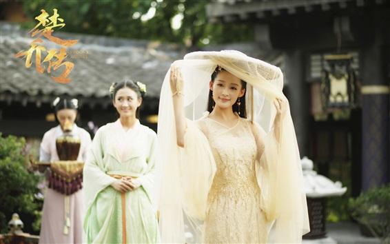 Fondos de pantalla Li Qin, agentes de la princesa