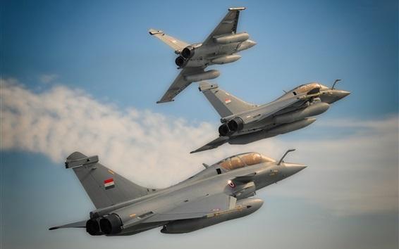 Wallpaper Multipurpose fighter, flight, sky
