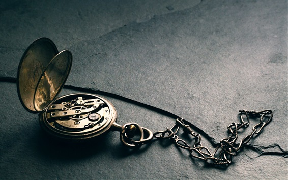Wallpaper Pocket watch, precision struct