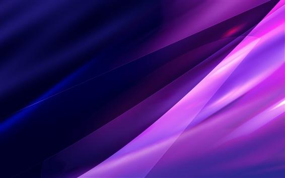 Обои Фиолетовый абстрактный фон, свет