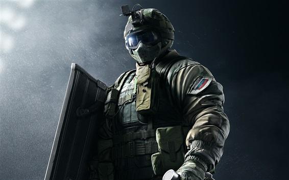 Hintergrundbilder Regenbogen Sechs, Spezialeinheiten, Soldat