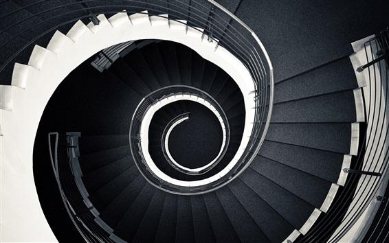Fond d'écran Escalier, spirale