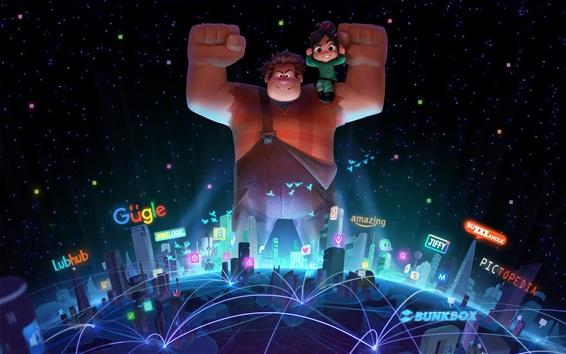 Fondos de pantalla Wreck-It Ralph 2