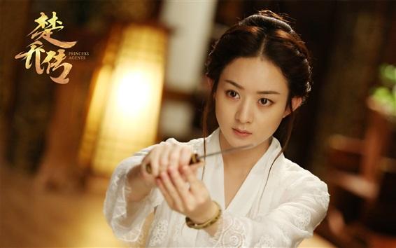 Fondos de pantalla Zhao Liying, agentes de la princesa