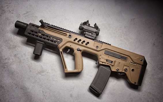 Wallpaper Assault rifle, weapon
