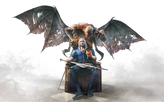 배경 화면 클래식 게임, The Witcher 3 : Wild Hunt