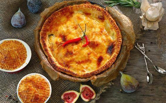 Wallpaper Delicious pie, food