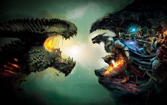 Hintergrundbilder Dragon Age: Inquisition, Spiele HD