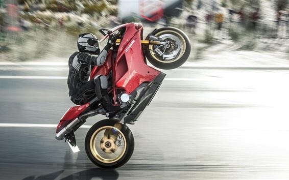 Wallpaper Drift, motorcycle, sports