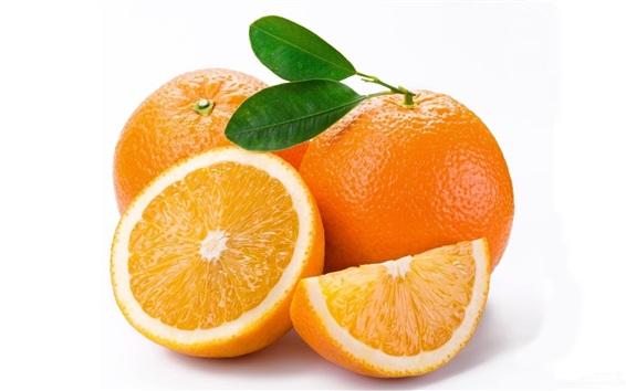 Wallpaper Fresh oranges