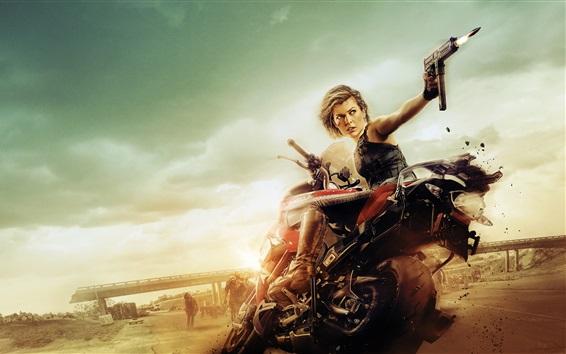 Fondos de pantalla Milla Jovovich, Resident Evil