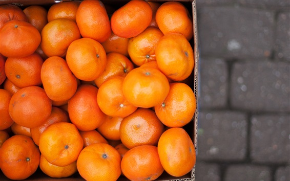 Wallpaper One box oranges