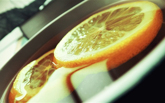 Papéis de Parede Bebidas de laranja, fatia