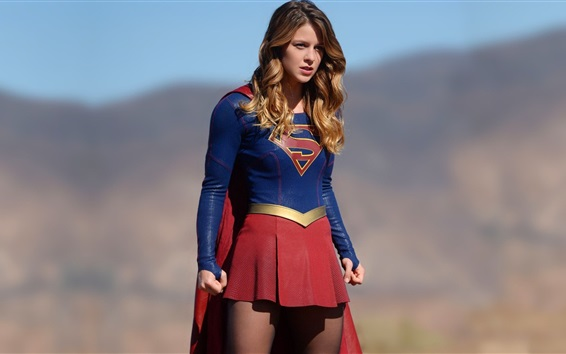 Wallpaper Supergirl, TV series