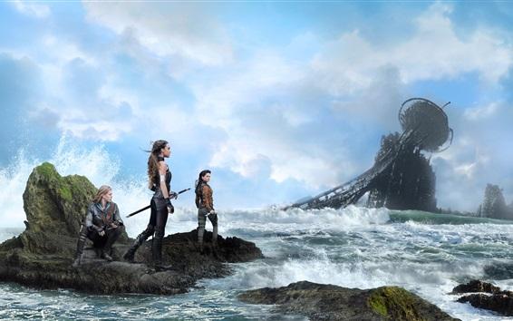 Wallpaper The Shannara Chronicles, TV Series, sea, girls