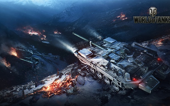 Wallpaper World of Tanks, hot games HD
