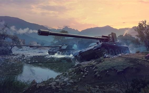 Обои Мир танков, сетевые игры