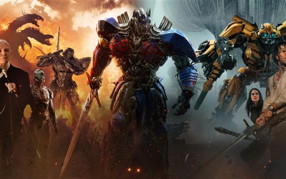 Fond d'écran Film 2017, Transformers: The Last Knight