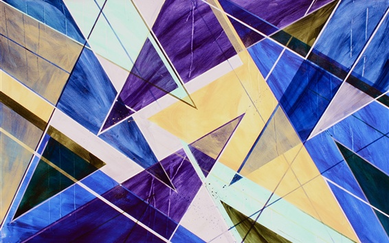 Wallpaper Abstraction, art, colors, form