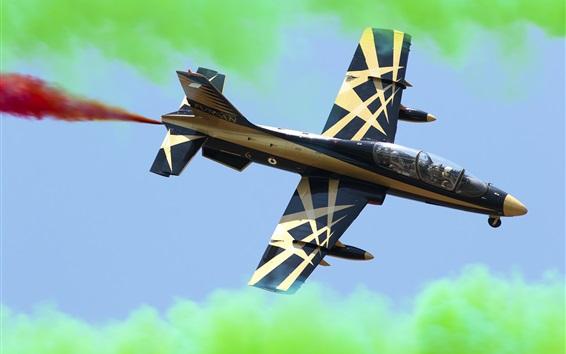 Wallpaper Aermacchi MB-339 light attack fighter