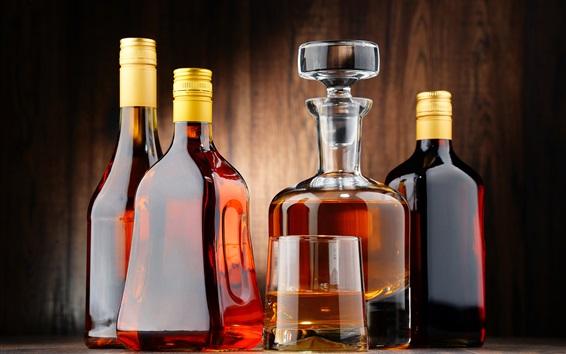 Wallpaper Alcohol drinks, whiskey, bottle