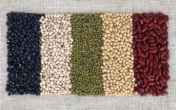 Wallpaper Beans, colors, grain