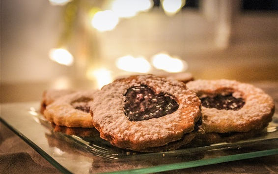 Wallpaper Biscuits, pastries