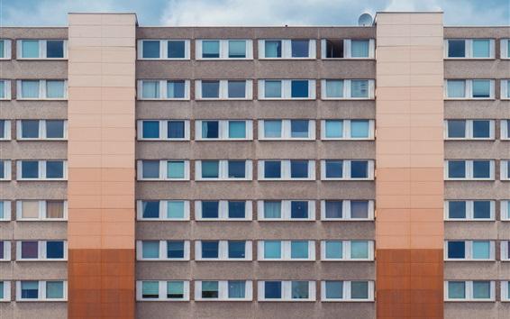 Fond d'écran Bâtiments, maisons, murs, fenêtres