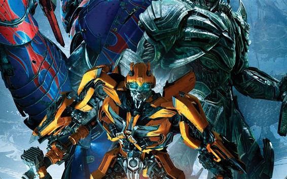 Fondos de pantalla Bumblebee, Transformers 5: El último caballero