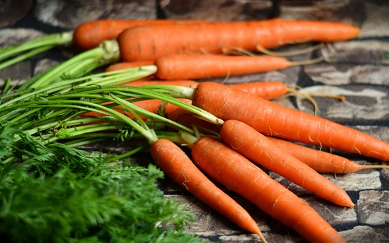 Обои Морковь, овощи