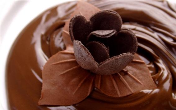 Wallpaper Chocolate flower