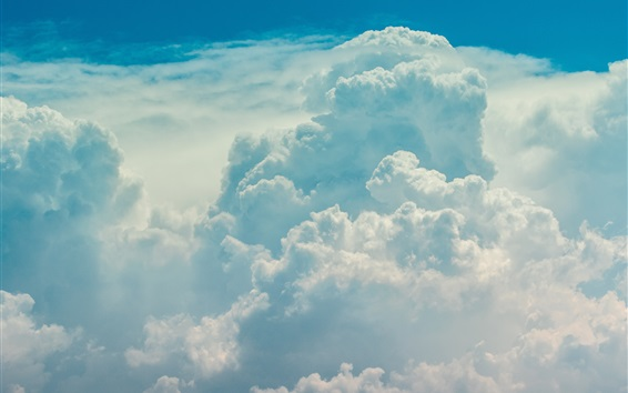 Wallpaper Clouds, sky, nature