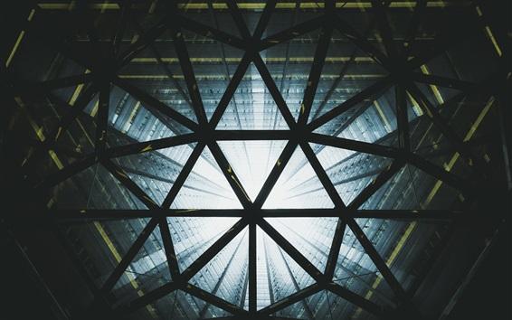 Hintergrundbilder Bau, Wolkenkratzer, aus der Unteransicht