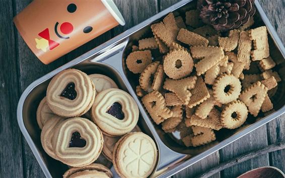 Fond d'écran Cookies, pâtisseries