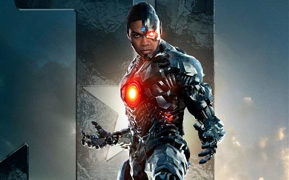 Fondos de pantalla Cyborg, Liga de la Justicia 2017
