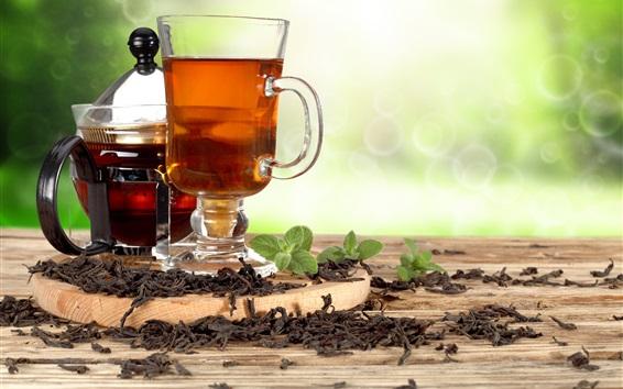 Fond d'écran Boissons, thé, tasse, bouilloire