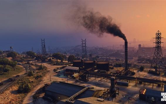 Fondos de pantalla Grand Theft Auto V, GTA juego