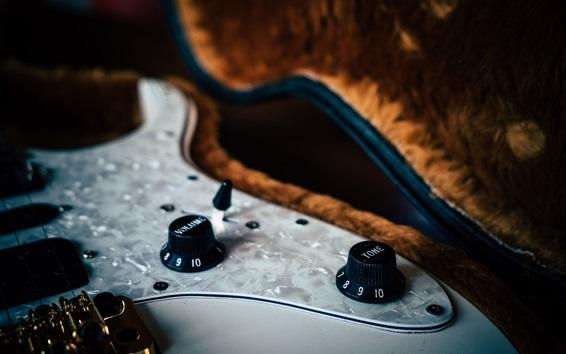 Fond d'écran Guitare, basse, syntoniseur