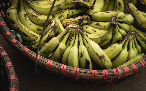 Wallpaper Harvested bananas