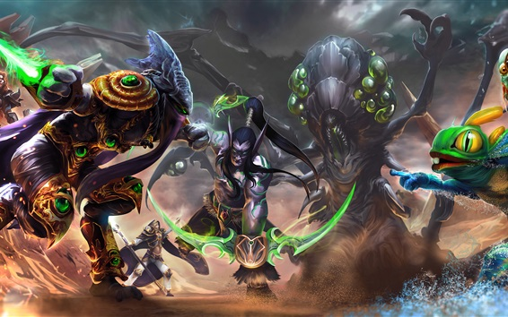 Wallpaper Heroes of the Storm, art picture