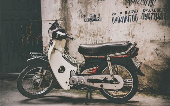 Fond d'écran Motocyclette Honda, vue de côté