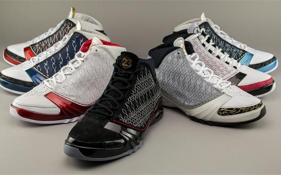 Wallpaper Jordan shoes