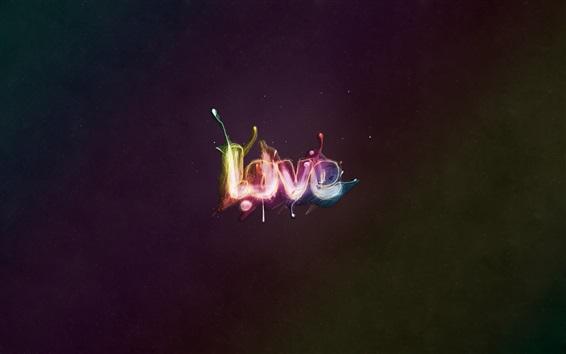 Wallpaper Love, fireworks