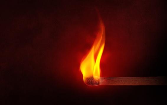 Papéis de Parede Combina fogo, chama