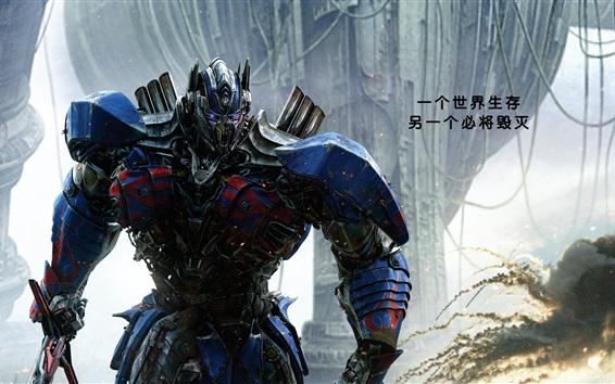 Papéis de Parede Optimus Prime, Transformers: o último cavaleiro