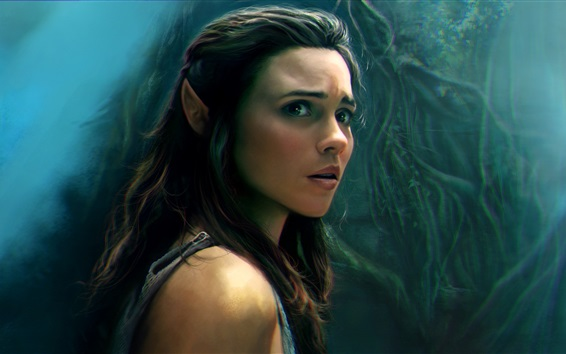 Fond d'écran Poppy Drayton, The Shannara Chronicles