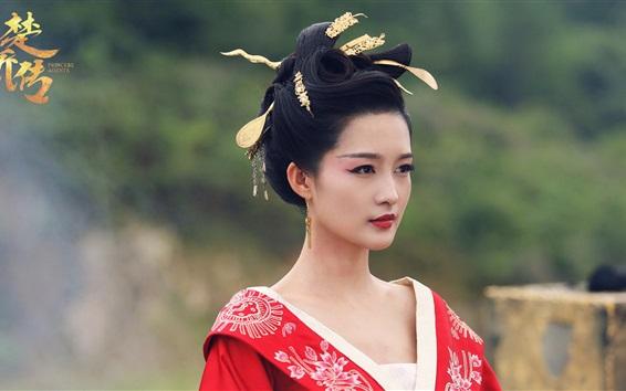 Papéis de Parede Princess Agents, série de TV, Li Qin